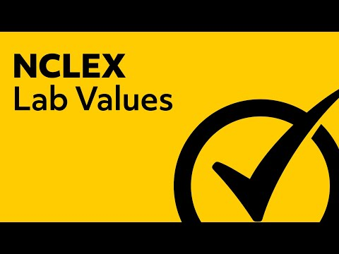 Lab Values | NCLEX Review 2018