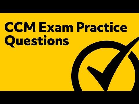 Free CCM Practice Test