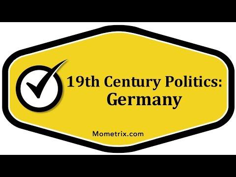 19th Century Politics - Germany