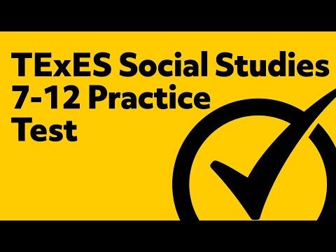 TExES Social Studies 7-12 (232) Secrets Study Guide