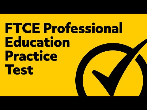 FTCE Professional Education Test Questions