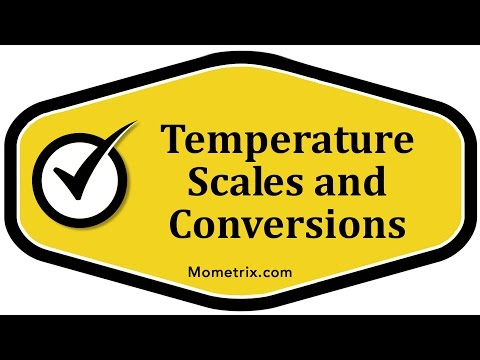 Temperature Scales and Conversions