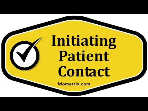 Initiating Patient Contact