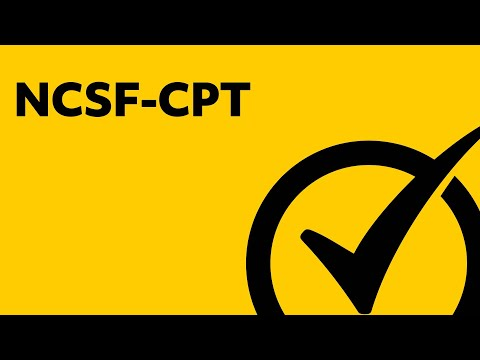 Free NCSF-CPT Study Guide