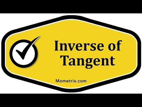 Inverse of Tangent