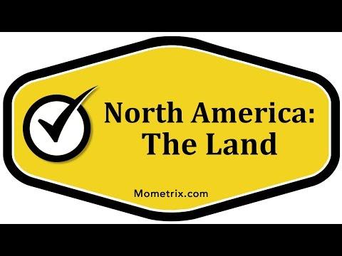 North America: The Land