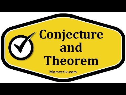 Conjecture and Theorem