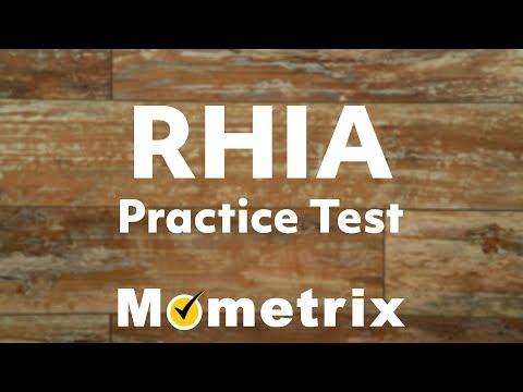 RHIA Exam Prep