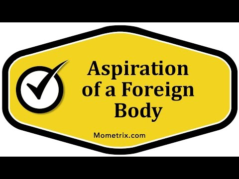 Aspiration of a Foreign Body