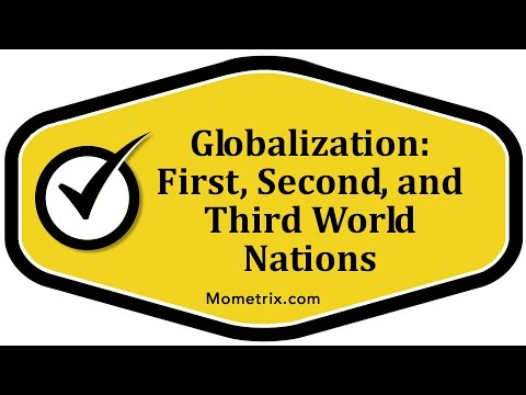 Globalization: First, Second, and Third World Nations