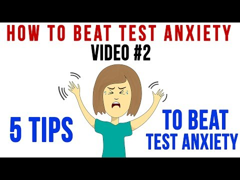 Tip 2 | 5 Tips to Beat Test Anxiety