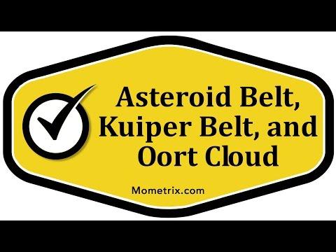 Asteroid Belt, Kuiper Belt, and Oort Cloud