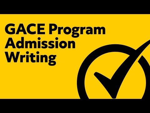 Free GACE Program Admission Writing Practice Test (202)