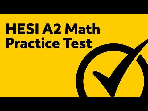 HESI Entrance Exam - HESI Practice Test (Math)