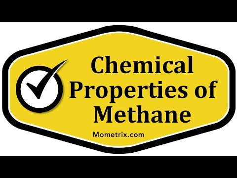 Chemical Properties of Methane