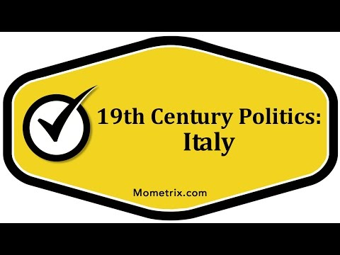 19th Century Politics - Italy