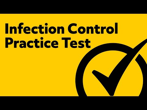 Infection Control Exam (Practice Questions)