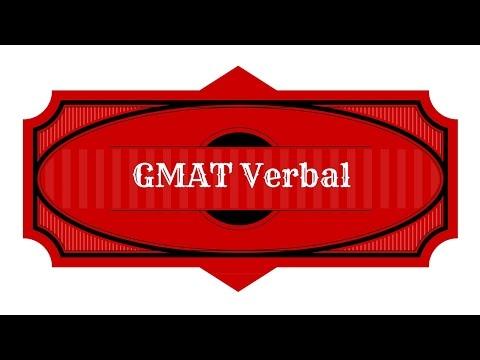 GMAT Verbal Strategies Study Guide