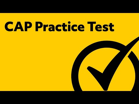 CAP Exam Sample Questions and Answers