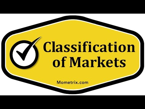 Classification of Markets