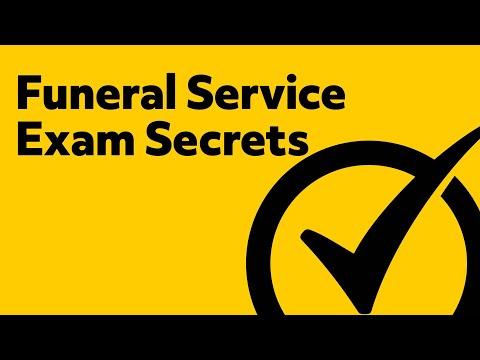 Funeral Service Exam Secrets (Study Guide)