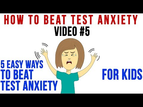 Tip 5 | 5 EASY WAYS to Beat Test Anxiety - FOR KIDS