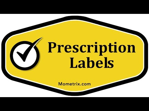Prescription Labels