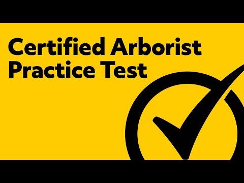 Certified Arborist Test Preparation
