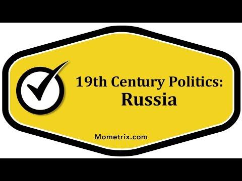 19th Century Politics - Russia