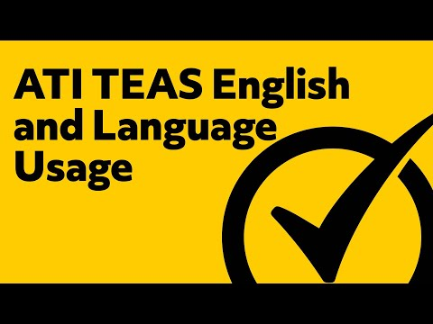 Free TEAS English and Language Usage Practice Test