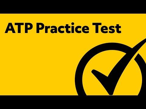 ATP Exam Study Guide