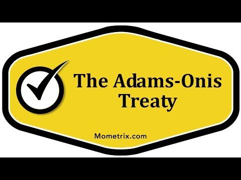 The Adams-Onis Treaty