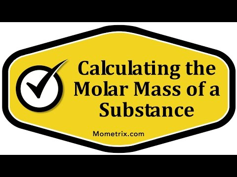 Calculating the Molar Mass of a Substance