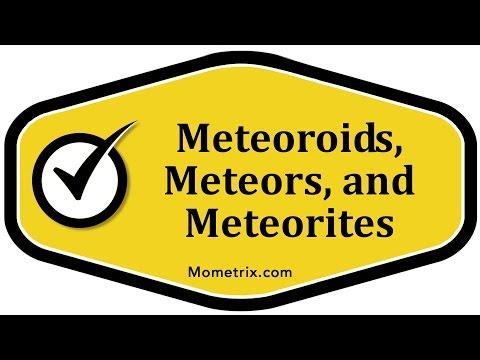 Meteoroids, Meteors, and Meteorites