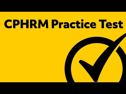 CPHRM Practice Questions
