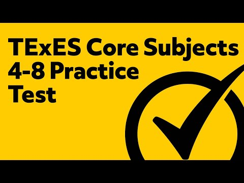 Free TExES Core Subjects 4-8 (211) Practice Test