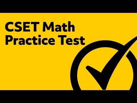 CSET Math Practice Test