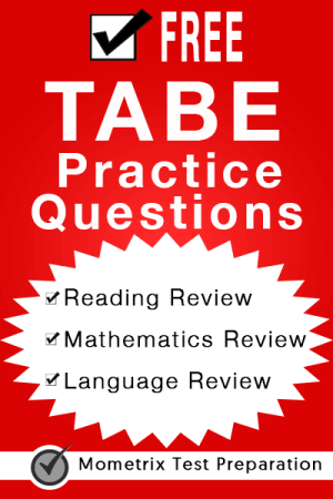 Free TABE Practice Questions