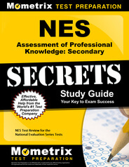 NES Assessment of Professional Knowledge: Secondary Study Guide