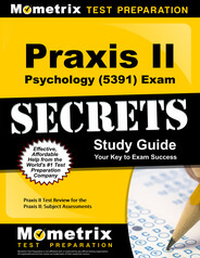 Praxis Psychology (5391) Study Guide