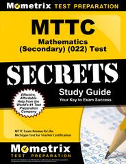 MTTC Mathematics (Secondary) Study Guide