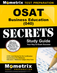 OSAT Business Education Study Guide