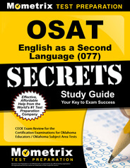 OSAT English as a Second Language Study Guide
