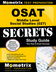 OSAT Middle Level Social Science Study Guide