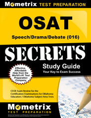 OSAT Speech/Drama/Debate Study Guide