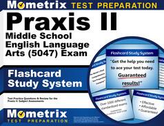 Praxis Middle School English Language Arts (5047) Flashcards