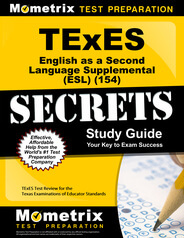 TExES English as a Second Language Supplemental Study Guide