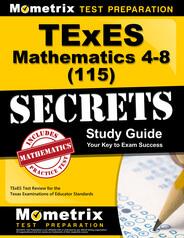 TExES Mathematics 4-8 Study Guide