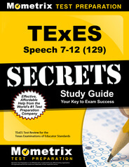 TExES Speech 7-12 Study Guide