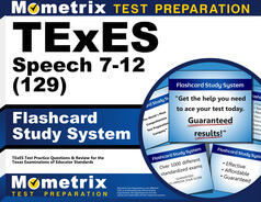 TExES Speech 7-12 Flashcards